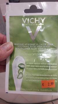 VICHY - Masque apaisant à l'aloe vera