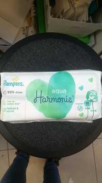 Pampers - Aqua Harmonie - Lingettes
