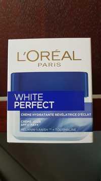 L'ORÉAL - White perfect - Crème hydratante révélatrice d'éclat SPF 17