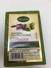 KÁLLISTON - Traditional Pure Olive Oil soap - Aroma Lavender