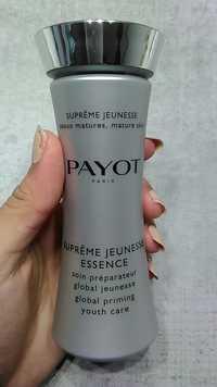 Payot - Suprême jeunesse essence - Soin réparateur