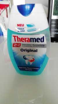 Theramed - 2 in 1 - Zahncreme + Mundspülung