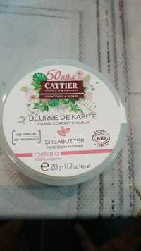 Cattier - Beurre de Karité