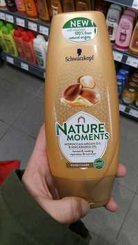 Schwarzkopf - Nature moments - Moroccan argan oil & macadamia oil