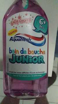 AQUAFRESH - Junior - Bain de bouche goût fruité