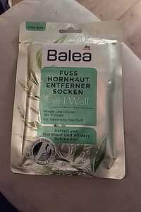 Balea - Feel well - Fuss hornhaut entferner socken