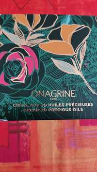 ONAGRINE - Crème aux 20 huiles précieuses