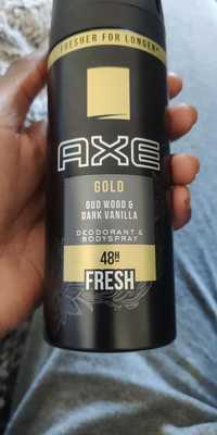AXE - Gold fresh - Déodorant & bodyspray 48h