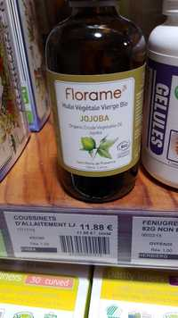 FLORAME - Jojoba - Huile végétale vierge bio