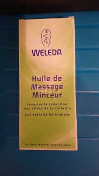 Weleda - Huile de massage minceur