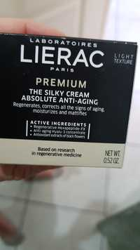 Liérac - Premium - The silky cream absolute anti-aging