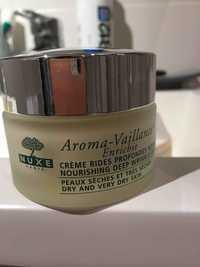 NUXE - Aroma-vaillance - Crème rides profondes nourrissant