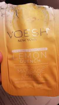 VOESH - Lemon quench - Massage lotion