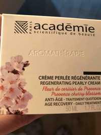 Académie Scientifique de Beauté - Aromathérapie - Crème perlée régénérante anti-âge