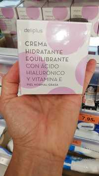 Deliplus - Crema hidratante equilibrante