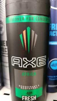 AXE - Africa - Déodorant & bodyspray fresh 48h