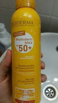 BIODERMA - Photoderm max spf 50+ brume solaire