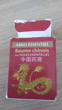 ARKOPHARMA - Baume chinois aux huile essentielles