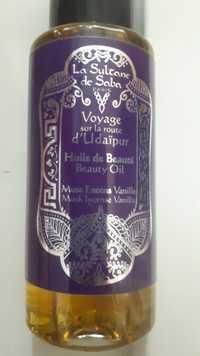 La Sultane de Saba - Voyage sur la route d'Udaïpur - Huile de beauté musc encens vanille
