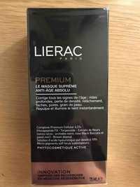 Liérac - Le masque suprême anti-âge absolu