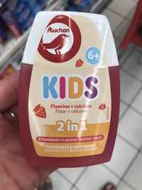 AUCHAN - Kids - Dentifrice et bain de bouche 2 in 1