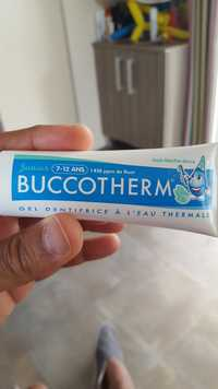 BUCCOTHERM - Gel dentifrice à l'eau thermale junior 7-12 ans