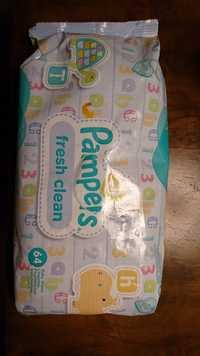 Pampers - Fresh clean - Baby wipes lingettes