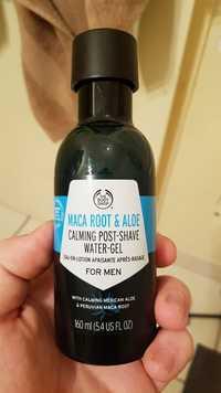 THE BODY SHOP - For men Maca root & aloe - Eau en lotion apaisante après-rasage