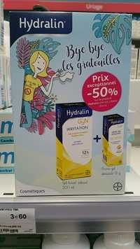 HYDRALIN - Gyn - Irritation + crème-gel apaisante
