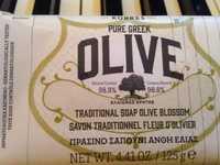 KORRES - Pure greek Olive - Savon traditionnel fleur d'olivier
