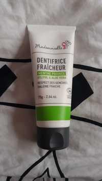 Mademoiselle Bio - Dentifrice fraîcheur