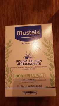 Mustela - Poudre de bain adoucissante Bébé - enfant