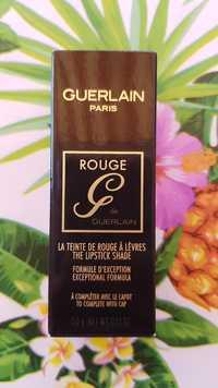 Guerlain - Rouge G - La teinte de rouge à lèvres