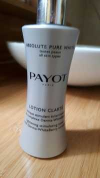 PAYOT - Absolute pure white - Lotion clarté