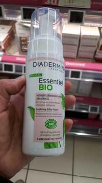 DIADERMINE - Essentiel Bio - Mousse démaquillante apaisante