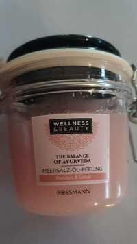 WELLNESS & BEAUTY - The balance of ayurveda - Meersalz-öl-peeling