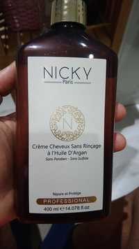 Nicky - Crème cheveux sans rinçage à l'huile d'argan