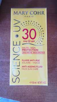 MARY COHR - Science UV - Fluide anti-age solaire visage  FPS SPF 30
