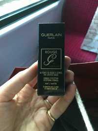 Guerlain - Rouge - La teinte de rouge à lèvres