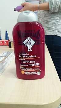 Le petit marseillais - Shampooing éclat couleur à l'huile de carthame et extrait de myrtille