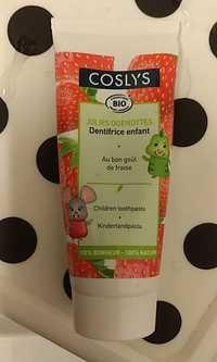 COSLYS - Jolies quenottes - Dentifrice bio au fraise