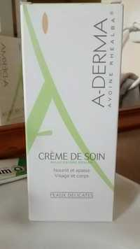 A-Derma - Crème de soin au lait d'Avoine Rhealba