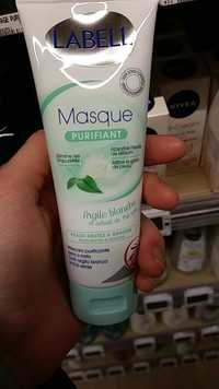 LABELL - Masque purifiant