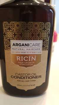 ARGANICARE - Huile de Ricin - Hair growth stimulator - Castor oil conditioner