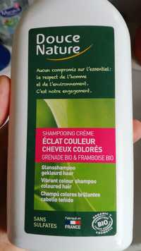 Douce Nature - Éclat couleur cheveux colorés - Shampooing crème