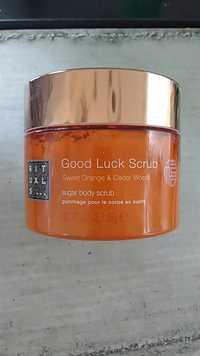Rituals - Good luck scrub - Gommage pour le corps au sucre