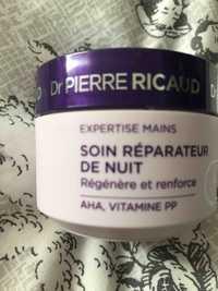 Dr Pierre Ricaud - Expertise mains - Soin réparateur de nuit