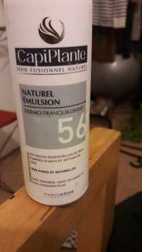 CAPIPLANTE - Naturel émulsion dermo-tranquillisant 56