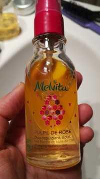 Melvita - Duo repulpant éclat - Eau florale et huile de rose