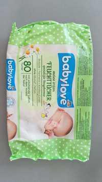 Babylove - Meine ersten feuchtücher